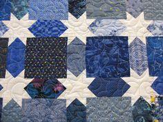 Blue star quilt option for Mom