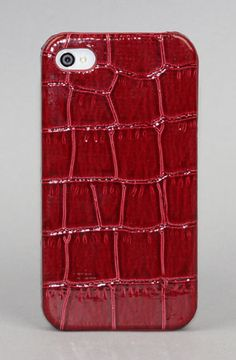 Snake Skin Back Case for Iphone  by Yamamoto Industries