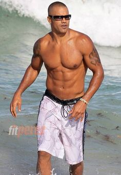 ☺ My favorite character in my favorite show (; Shemar Moore  who plays Derek Morgan in criminal minds!