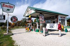 Sinclair station Route 66 Missouri