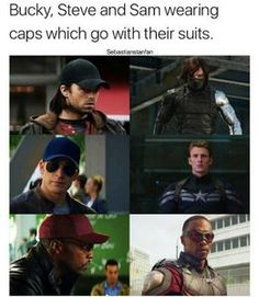 Ummmm that's why it's called team cap also Wanda wears a hat at the beginning of CA Civil War