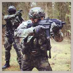 Johny and Michal at Section8 Airsoft, near Glasgow, Scotland on 19th Oct 2014 all guns by ASG Copyright Scoutthedoggie 2014 http://www.youtube.com/scoutthedoggie