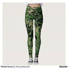 Wacky Green Leggings