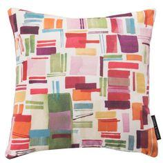 Cushion 'Brooklyn Velvet' (43cm x 43cm) by Clarke & Clarke.