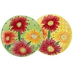 Daisy Dessert Plates