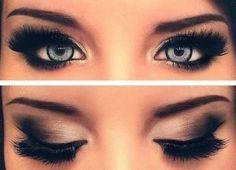 makeup, eye makeup, eye shadow, eyelashes, eyes
