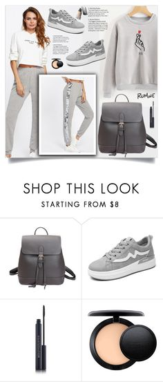 """Go sporty!"" by samra-bv ❤ liked on Polyvore featuring MAC Cosmetics and Burberry"