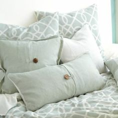 Textured Linen Pillows | Ballard Designs