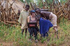 Paola, travel blogger, un giorno tra gli Hamar, un popolo della valle dell'Omo in Etiopia.