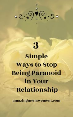 What causes relationship paranoia and how to fix it. how to stop being paranoid in a relationship Toxic Relationships, Healthy Relationships, Relationship Advice, Relationship Struggles, Marriage Prayer, Happy Marriage, Paranoid Quotes, Prayer For Married Couples