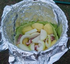 Dutch Oven, Cabbage, Grilling, Pizza, Favorite Recipes, Vegetables, Food, Lawn And Garden, Iron Pan
