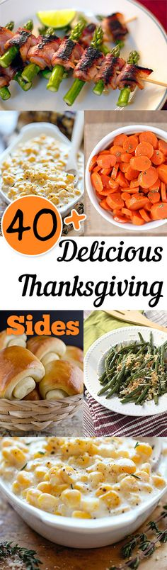 Serve the most delicious side dishes at your Thanksgiving dinner using these must try recipes!