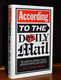 According to The Daily Mail: The audacious sabotage of tacky tabloid newspapers and trashy TV Daily Mail, New Books, My Design, Novels, Humor, Tv, Reading, Amazon, Amazons