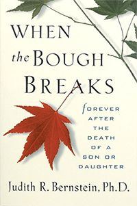 When the Bough Breaks by Judith R. Bernstein, Ph.D. The author and her husband, both psychologists, experienced the death of their son when he was seventeen years old. Though the book is not about military death and survival, it is about the journey that the bereaved walk, despite the cause of death of our dear ones.