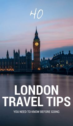 Have you got a trip to London coming up? Here are 40 quick and helpful London travel tips I put together for you. You'll need to know these before visiting!