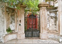 lovely gate and door