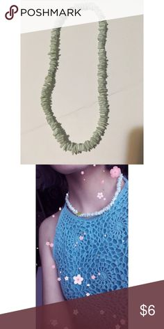 (Individual) pale blue stone necklace In case you did not want to buy the whole set and only get this necklace! Beautiful statement necklace in perfect condition Jewelry Necklaces