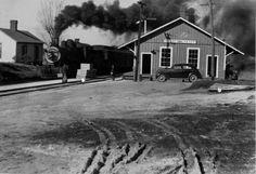 Pilot Mountain depot  YVRR