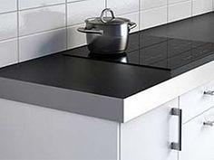 Keittiöön puutaso vai laminaattitaso? Home Renovation, Stove, Sink, Kitchen Appliances, Home Decor, Sink Tops, Diy Kitchen Appliances, Vessel Sink, Home Appliances