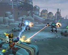 Ratchet & Clank: Up Your Arsenal on Playstation 2 - Lots of fun