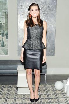 Allison Williams wore Sachin + Babi at Mark Lees Supper to Celebrate Irene Neuwirth in New York. #fashion