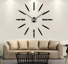 Wall clock, Zagar, Spiegel, Hodiny samolepky na zeď a stenu
