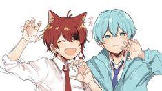 Anime Cat Boy, Kawaii Anime Girl, Character Sketches, Art Sketches, Anime Guys Shirtless, Hunter Anime, Cute Anime Pics, Anime Artwork, Anime Demon
