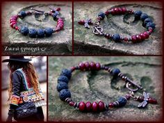 lávakő karkötő Facebook Sign Up, Beaded Bracelets, Jewelry, Jewlery, Jewerly, Pearl Bracelets, Schmuck, Jewels, Jewelery