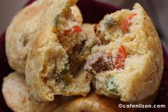 Low carb, Savory breakfast muffins