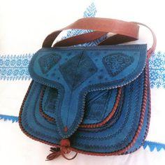 Beautiful leather bag by Moroccan Corridor