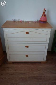 Commode b b on pinterest lit junior chest of drawers - Commode pour bebe meuble a langer ...