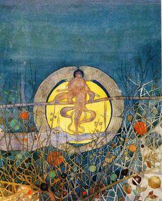 harvest moon by Charles Rennie Mackintosh