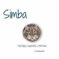 #Spilla #Simba micione tigrato disponibile ..