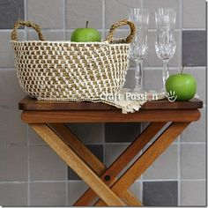 Learn how to make Cool Crochet Rope Baskets like these. Find the pattern here.