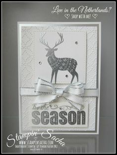 Stampin' Sacha | Stampin' Up! | Merry Patterns | Quilt Top Embossing Folder | Christmas