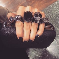 Brass Knuckle Clutch Alexander McQueen-esque brass knuckle clutch. Get the look without the $1000(s) dollar price tag. BRAND NEW. suuuuper cute! Alexander McQueen Bags