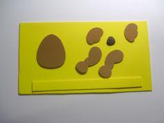 Bloquinho de cachorrinha com fitas Sinimbu - passo 1