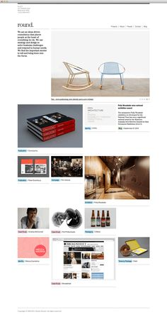Studio Round - Website development