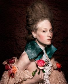 18th C. Inspired...fabulous imagery and clothing beautifully styled, photography by Bernard Tartinville