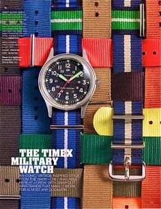 woven straps, nice watch styling am surprised @Scot Strube Meacham Wood didn't pin...