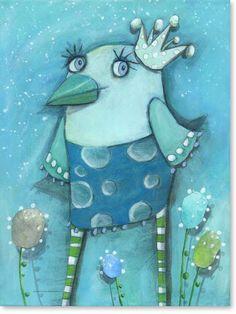 Acrylbild Billy Blue - Leinwandbild fürs Kinderzimmer
