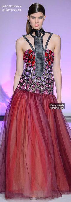 Dany Atrache Couture Fall 2015-16