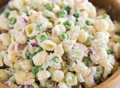 La salade fraîche de pâtes au thon super facile à faire!
