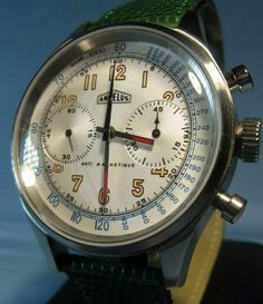 Old Watches, Fine Watches, Pocket Watches, Vintage Watches, Watches For Men, Watch Room, Wristwatches, Chronograph, Spaces