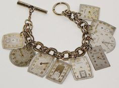 Some lovely inspiration here for how to re-purpose old watches!: