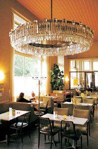 Café Prückel - ©Gerhard Wasserbauer Valance Curtains, Chandelier, Ceiling Lights, Lighting, Design, Home Decor, Home Made, Candelabra, Decoration Home