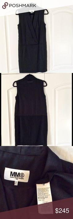 Robe longue Stripy Gris MM6 Maison MargielaMaison Martin Margiela extrêmement Boutique Offre De Prix Pas Cher Acheter En Ligne Authentique Visitez Pas Cher En Ligne enXmKaSHZo