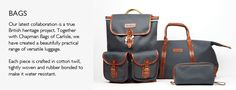 Luggage, Bags, Leather bags, Accessories | Oliver Sweeney