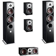 Dali Zensor 5.0 Lautsprechersystem, Farbe Schwarz