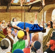 JOHN 4:43-54  Jesus Heals an Official's Son  43 Two days later Jesus left and went to Galilee. 44 (Jesus had said before that a prophet is not respected in his own country.) 45 When he arrived in Galilee, the people there welcomed him. They had been at the Passover festival in Jerusalem and had seen everything he did there.  46 Jesus went to visit Cana in Galilee again. Cana is where he had changed the water into wine. One of the king's important officials lived in the city of Capernaum…